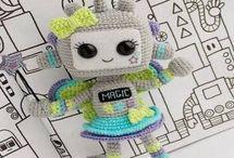 Muñecos y muñecas Amigurumi (Patrones Amigurumi gratis)