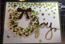 SU-Christmas Wreath / by Sue Cartwright