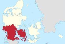 [Syddanmark] / Region Syddanmark / Región del sur de Dinamarca   Jylland / Jutlandia   @jigalle