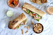 Sandwiches (vegan)
