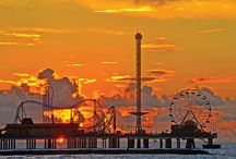 Galveston, Texas / Once known as a gambling mecca until the Texas Rangers raided the town, Galveston was also the largest port on the Texas coast.