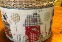 dibujos para adornar cestas