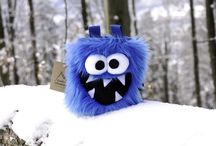 Crafty Climbing Chalk Bags / Furry Chalk Bags Crafty Climbing!
