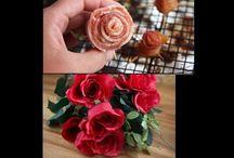 ☕  Tálaljunk ehető rózsákat  ☕