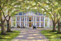 Southern Plantation Houses