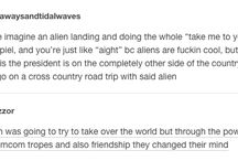 Aliens/ and more thoughts