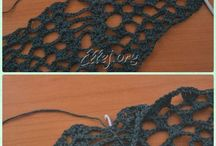 crochet shawl / sal crosetat