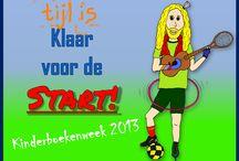 Kinderboekenweek 2013: Klaar voor de start! / Het thema van de Kinderboekenweek 2013 is Sport en spel / Klaar voor de start! Tijl Damen schreef 6 liedjes en een uitgebreid lespakket. Meer vind je op http://www.tijldamen.nl/kinderboekenweek-2013