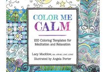 ADULT COLOURING / Cool adult coloring pages I come across.