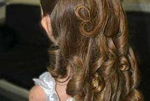 Penteados de daminha