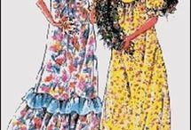 Mum - hawaiian muumuu dress