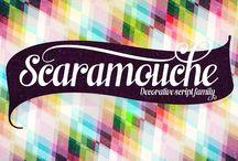 Scaramouche Typeface