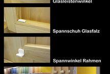 Plissee Rollo - So messe ich richtig  / Plissee Rollo - der Faltstore auf Maß. Einfach und sicher messen mit der Aufmaßhilfe von Myfaltstores.de