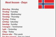 Lære Norsk/Learn Norwegian ♡