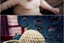 örgü bebek şapkaları Ve battaniyeler