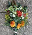 British Funeral flowers / Seasonal British flowers, grown and arranged by Field Gate Flowers of Milton Keynes, Buckinghamshire www.fieldgateflowers.co.uk