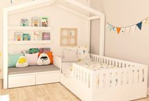 Toddlers' rooms