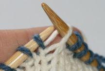 Knitting round & flat