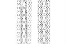 Bilros - bobbin lace - knippl