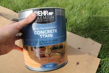 Concreat Stain