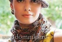 Вязание шапки / все о вязание