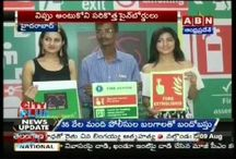 fire safety signage's mediateckboards brand promotion with ankithajadav Actress and nikhita model