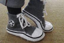 Knitting / Socks, slippers etc