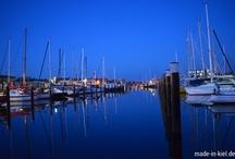 Sonnenuntergang auf dem Ostufer / Blaue Stunde auf dem Ostufer. Leider immer viel zu schnell um!