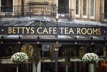 Betty's Tea Rooms  / Harrogate's famous tea rooms and directly opposite Prospect Crescent apartments!