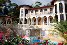 Mountain Top Mansion with Ocean Views and Private Waterfall / http://www.dominicalrealty.com/property/?id=628