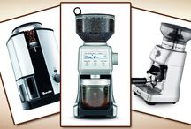Breville Coffee Grinders / Reviews of the best Breville coffee grinders, as well as getting to know the company who builds them a bit better.