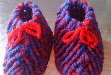 zapatillas a ganchillo