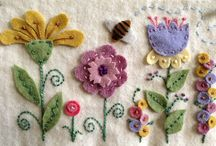 Embroidery - Felting / by Angie Lizaso