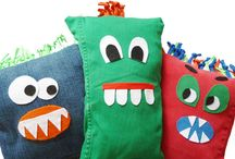 stofFUN ♥ sewing projects for kids / Fun sewing ideas for starting sewers.