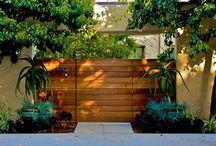 pagar papan kayu