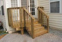 Small deck and stair solutions