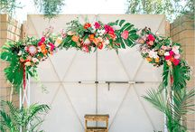 Tropical wedding: details