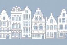budynki do druku