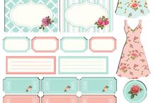 template shabby chic