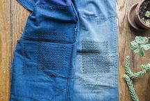 """:: B O R O  ::  B O R O :: / Learn the art of Boro Boro Japanese patchworking in this Intro to Hand Sewing class. Embrace the ethic of no wastefulness- Boro Boro literally translates to """"rags""""."""