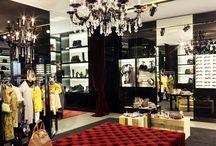chic boutiques + restaurants