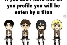 Attack on titans / AOT fans