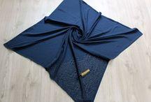 Knitwear scarf shawl Triko eşarp şal / Scarf