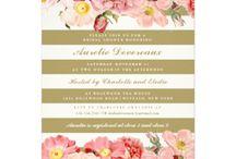 bridal invitations