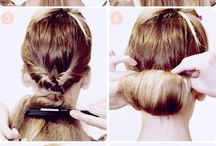Hair and make up style