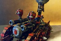 Iron daemon chaos dwarf / #irondaemon #chaosdwarf #chaos #demon #warhammer #fantasy #gamesworkshop #gw #painting #paint #forgeworld