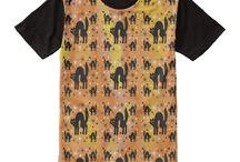Retro Style Black Cats Attire by Three Cats Graphics / Retro Black Cats themed clothing at Three Cats Graphics' Zazzle Shop. Most are customizable.