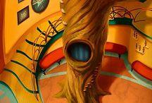 Inspirações para quadros / Para saber mais acesse: www.carolvayda.com.br