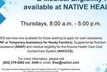 Services at NATIVE HEALTH