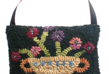 rug hooking/punch needle / by Ann Marie